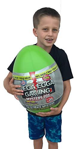 Mega-Egga Gaming Toys Ultimate Surprise Giant Mystery Egg - Green Color 15' Jumbo MegaEgga