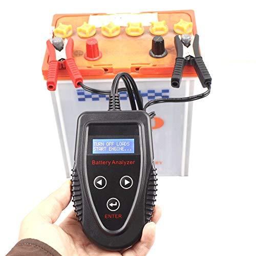 Digitalt bilbatteri procententtestare, bilbatteritestare batterikontroll, bilbatteritestare, batteritestare, livslängd, CCA mätinstrument för inre motstånd, bedöma om batteriet är bra eller dåligt, A