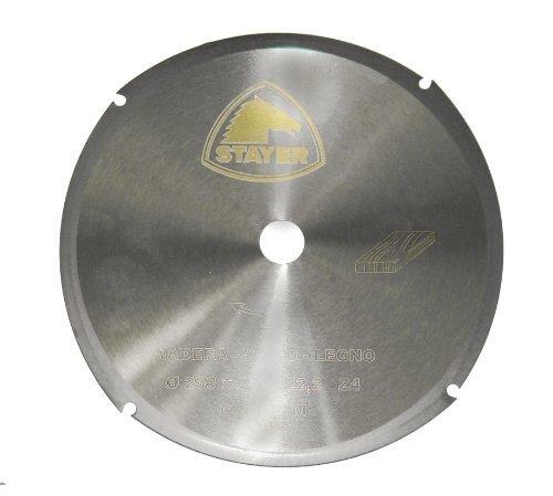 STAYER 2.196 - Disco corte Madera amoladora 115 x 2,0 x 22,2 Z - 4 ST