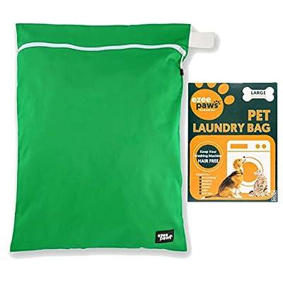 Ezee Paws Pet Laundry Bag for Pet Hair | Washing Machine Bag | Zip Up & Hanging Hook