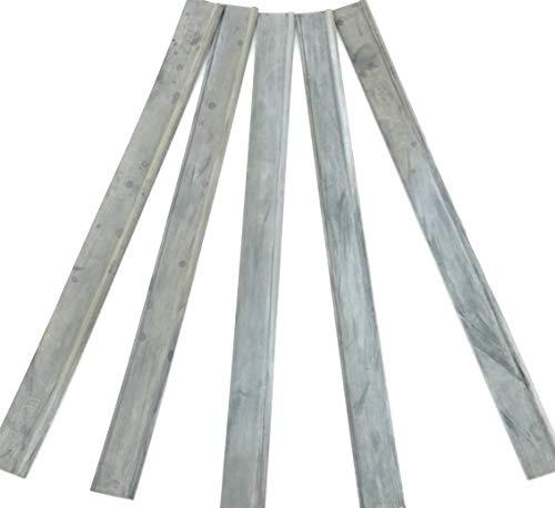Lewi Vervangende wisserrubber soft 25 cm (11020) (5 stuks) Rubber voor ruitenwisser trekker