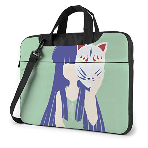 XCNGG When Higurashi Cry Fashion Shoulder Shockproof Laptop Bag Laptop Sleeve Case Ultra-Slim Laptop Computer Pouch Bag 14 inch