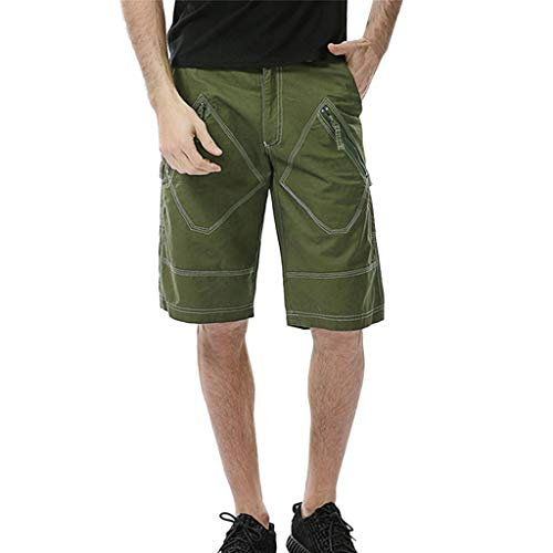 JERFER Moda Drawstring Pantalones Cortos Hombres Bolsillo Deportivo Casual Carga Pantalones Deportivos Gran Precio Cortar