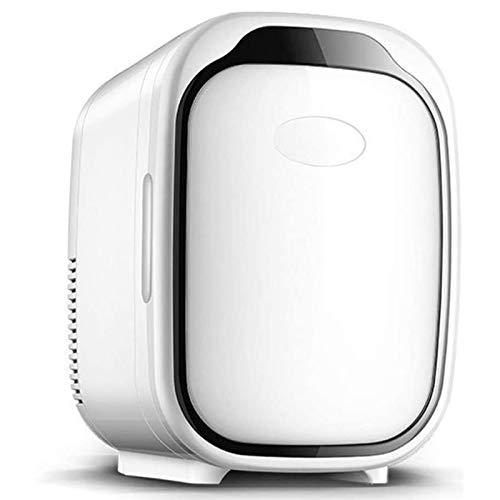 MZBZYU Mini Refrigerador de Belleza para Maquillaje, Mini Frigorífico de 6L para Enfriar y Calentar para Dormitorio, Oficina, Coche