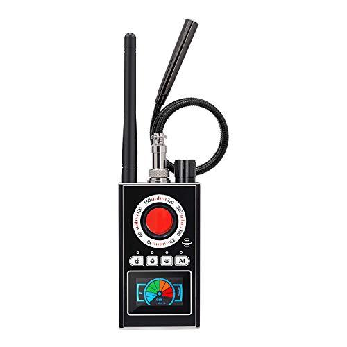 Anti Spy RF Detector Bug Detector Camera Finder Radio Scanner for GPS Tracker GSM Listening Device Hidden Camera Laser Lens…