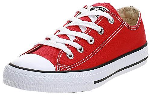 Converse Chuck Taylor All Star Core Ox, Zapatillas Infantil, Rojo, 31.5 EU