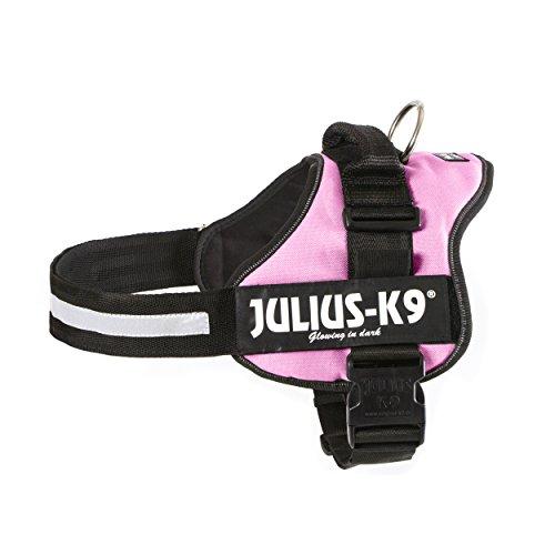 Julius-K9, 162PN-3, Harnais K9 Power pour chiens, Taille: 3, Rose