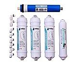 Pack Filtros Osmosis Inversa Compactos y Membrana Vontron