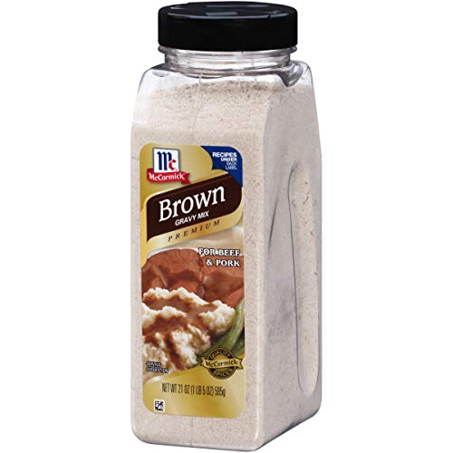 McCormick Premium Brown Gravy Mix, 21 Ounce (Pack of 1)