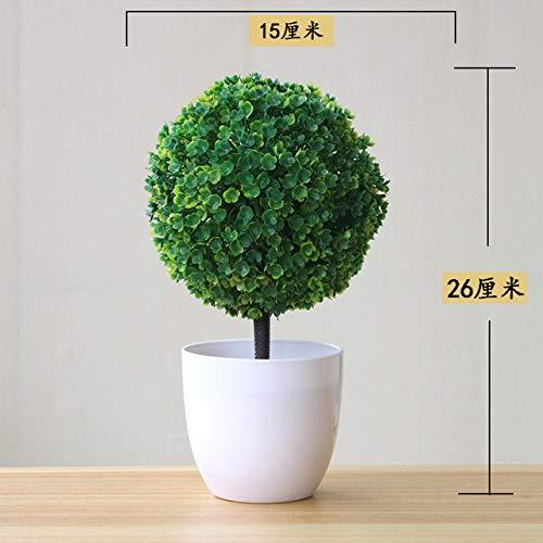BRTTHYE kunstplant bonsai kleine bomen in bloempot decoratie voor huis hotel tuin decoratie