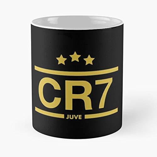 Best Seller - Cristiano Ronaldo Ju-ventus Merchandise Classic Mug Gift Coffee Mugs 11 Oz