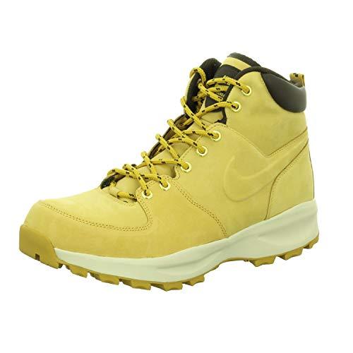 Nike Manoa Leather, Walking Shoe Hombre, Marrón (Haystack/Haystack/Velvet Brown 700), 45.5 EU