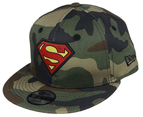 Superman wood camo New Era 9Fifty Snapback KINDER Cap