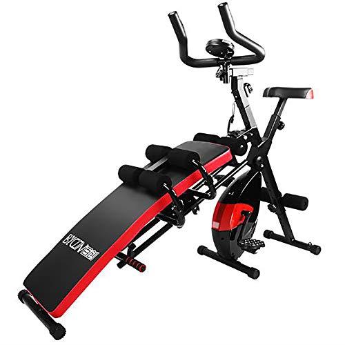 /N Schöne Taille Maschine Rückenbrett Bauch Dünne Taille Multifunktionale Magnetsteuerung Heimtrainer Spinning Bike