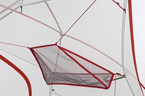 Big Agnes Inc Unisex's Big Agnes Trapezoid Gear Loft Tent, Black, One Size