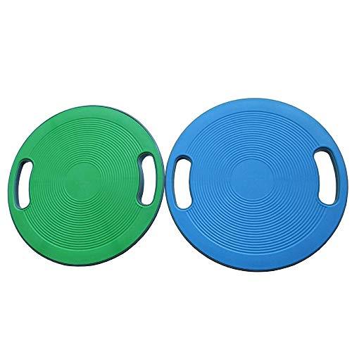 Cojín de Equilibrio Placa equilibrio plato antideslizante equilibrio con el apretón agujero balanza portátil placa pectoral de la placa de torsión de la placa del entrenamiento de la aptitud Ejercicio 🔥