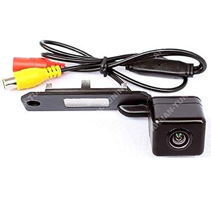 Akhan-CAM07-2-Farb-Rueckfahrkamera-Einparkhilfe-Kamera-fuer-Nummerschildbeleuchtung-Kennzeichenbeleuchtung