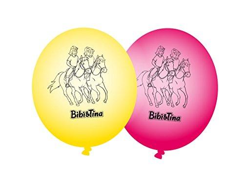 Bibi & Tina 8 Luftballons Kinderparty und Kindergeburtstag von DH-Konzept // Blocksberg Deko Ballons Party Set