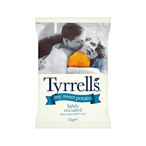 Tyrrells Meine Süßkartoffel Leicht Gesalzen 35G - Packung mit 4