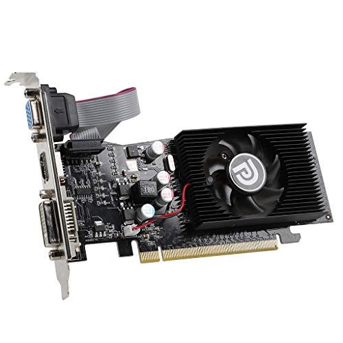 Viesky - Tarjeta gráfica GT210 (1024 MB, DVI+VGA+HDMI G210, 1 GB, 64 bits, D2, GDDR2, PCI-Express 3.0)