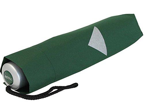 Doppler Kinderschirm Taschenschirm Kids Mini Reflex - dunkelgrün