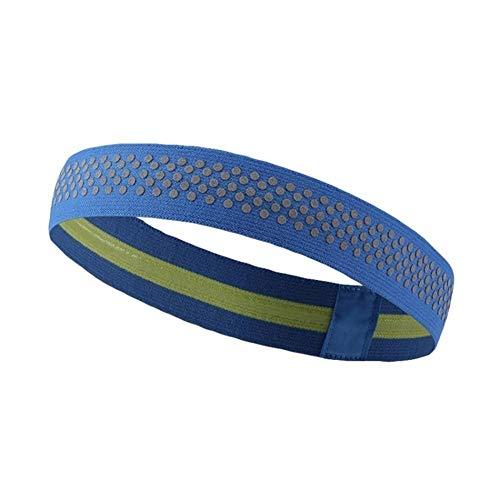 NOBRAND - Banda elástica para el pelo, unisex, para yoga, correr, absorbe el sudor, antideslizante, para deportes, tendencia fácil de usar, A