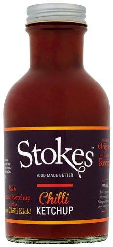 Stokes Chili Tomato Ketchup, 240ml