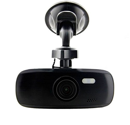 "Black Box G1W-CB Black Bezel Capacitor Model Dash Camera - Heat Resistant - Full HD 1080P H.264 2.7"" LCD Car DVR Video Recorder - WDR 140° Wide Angle 4X Zoom Motion Detection Night Vision G-Sensor"
