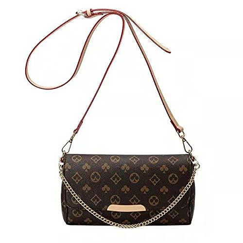Sac à bandoulière pour femme - Petit sac à main en cuir synthétique - Beige - Brauna., 18