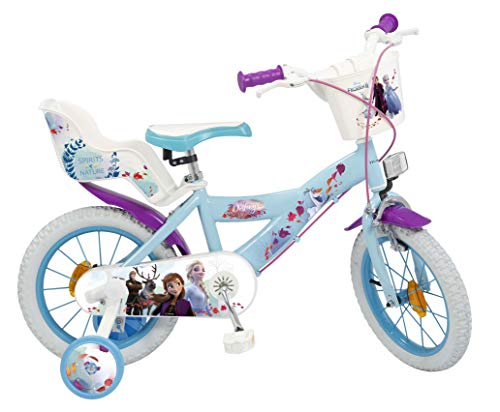 TOIMSA Bicicleta 14' Frozen 2