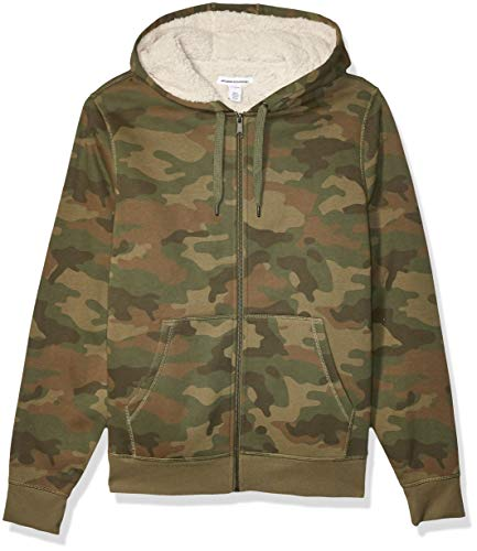 Camo Fleece Jackets Mens