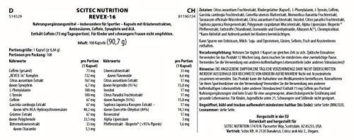 Scitec Nutrition Revex-16, 1er Pack (1 x 90 g) - 4