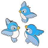 SparkTime Pin's Oiseaux Bleus...