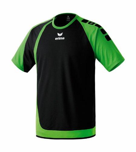Erima Herren Trikot Zenari, schwarz/Green, L, 613104