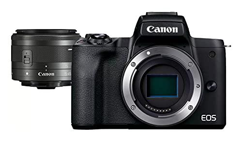 CANON 7543 Câmera Digital sem Espelho Eos M50 Mark Ii com Lente de 15-45 Mm