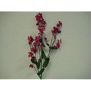 18″ Bouquet 12 Sprays Fuchsia Gypsophila Baby Breath Filler Artificial Silk Flowers LivePlant