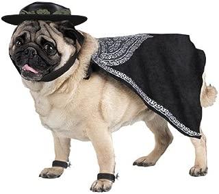 Zorro Pet Costume Sz Small