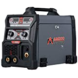 Amico MTS-185 Amp MIG/TIG/Stick Arc DC Welder, Weld Aluminum(MIG) 120/240V Dual Voltage Welding New …