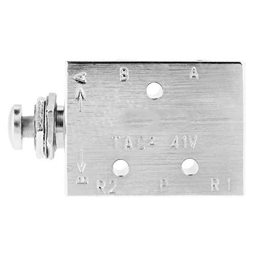 Válvula de palanca, Interruptor de válvula de palanca, Reemplazo de mantenimiento industrial de 3 vías de encendido/apagado preciso de metal para máquina CNC