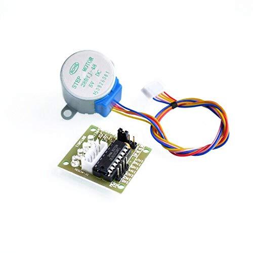 10ses motor paso a paso de 4 fases y 5 V + placa de controlador ULN2003 para_Ard uino 10 x motor paso a paso + 10x placa de controlador ULN2003
