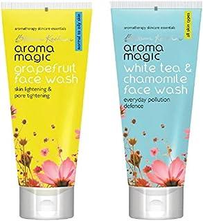 Aroma Magic Face Wash 100 ml (Grapefruit) And Aroma Magic White Tea And Chamomile Face Wash, 100ml