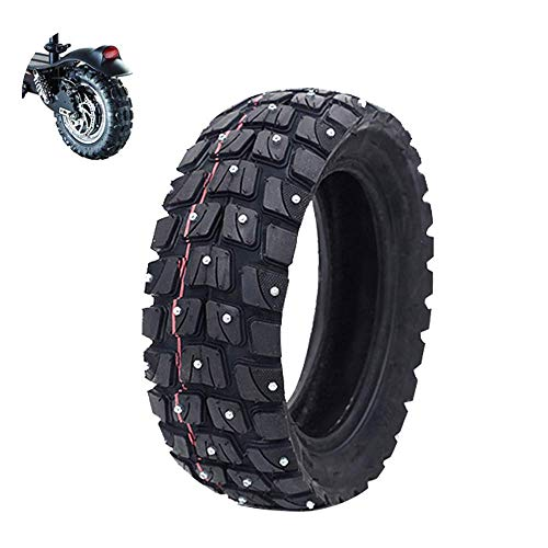 Neumáticos scooter eléctrico, neumáticos todoterreno nieve, neumáticos interiores y exteriores inflables 255x80, superficie antideslizante gruesa, agarre fuerte, adecuado diversas carreteras con mal