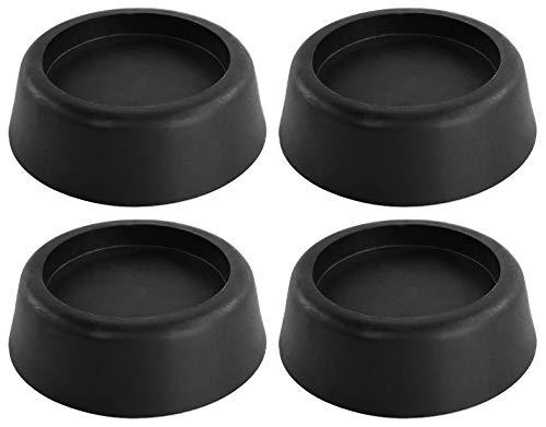 Waschmaschinen Schwingungsdämpfer Unterlage - 4er Set - Vibrationsdämpfer Gummi Füße für Waschmaschine & Trockner Waschmaschinenzubehör - Reduziert die Vibrationen deutlich !