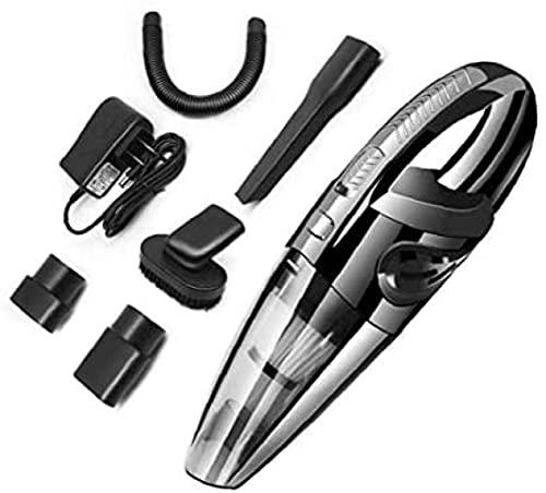 RTOFO Aspirador de coche húmedo y seco portátil aspirador ligero y compacto completamente inalámbrico y fácil de limpiar