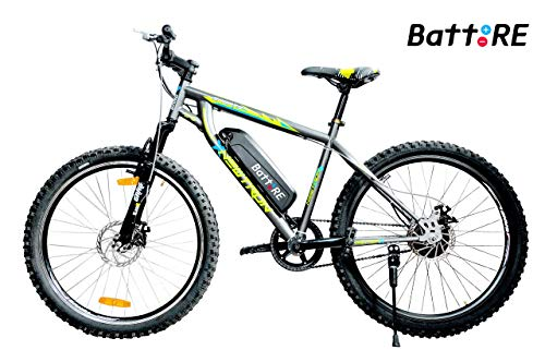 BattREElectric Cycle - NEWTRON | 8 Ah Lithium Battery | Runs 25 to...