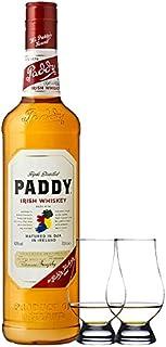 Paddy Irish Whiskey 0,7 Liter  2 Glencairn Gläser