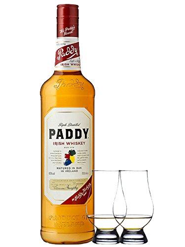 Paddy Irish Whiskey 0,7 Liter + 2 Glencairn Gläser