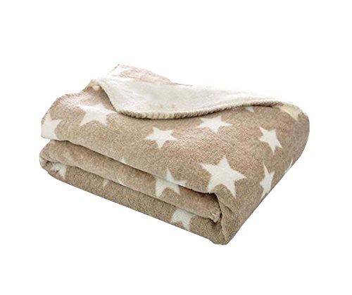 Camel simple moderne Bureau Salon jet couverture, 100x150cm / 39x59 pouces