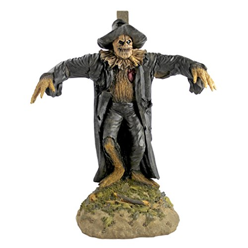 Design Toscano DB383088 Harvest of Evil Zombie Scarecrow Garden Statue-Halloween Decoration, Full...