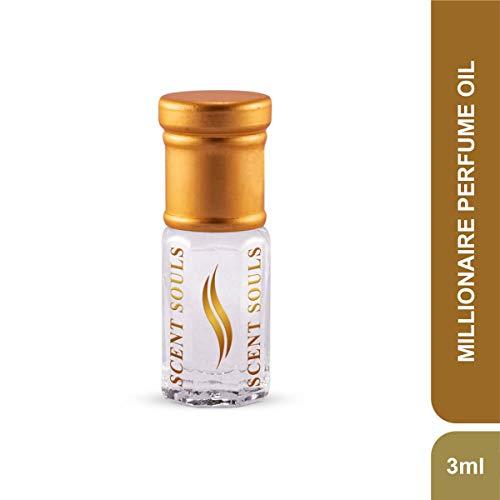 Scent Souls Millionaire Long Lasting Attar Fragrance Perfume Oil For Men- 3 ml